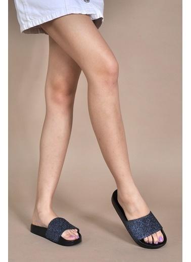 Vizon Ayakkabı Terlik Lacivert